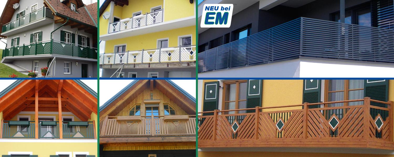 Permalink auf:Balkon- und Stiegengeländer Außenbereich